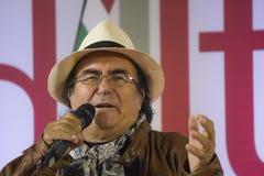 Free Albano Carrisi Singing His Song Stock Photo - 40835900