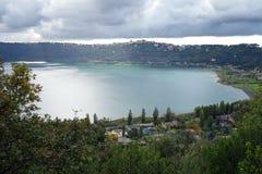 Free Albano Lake Royalty Free Stock Image - 35481166