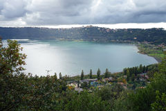 Albano Lake Royalty Free Stock Image