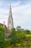 albans εκκλησία Κοπεγχάγη ST Στοκ φωτογραφίες με δικαίωμα ελεύθερης χρήσης