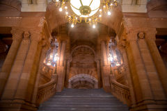 Albany Capitol Building. Million Dollar Stairs in Albany, New York's Capitol building Stock Photography