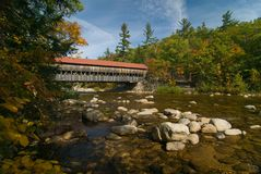 Albany Covered Bridge Royalty Free Stock Photo