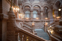 Albany Kapitoliumbyggnad royaltyfri fotografi