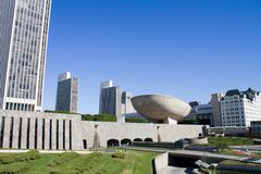 Albany New York Empire State Plaza Royalty Free Stock Photography