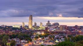 Albany New York Skyline stock video