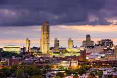 Albany Nowy Jork linia horyzontu Obraz Royalty Free