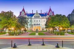 Albany, Nowy Jork, usa przy stan nowy jork Capitol zdjęcie stock