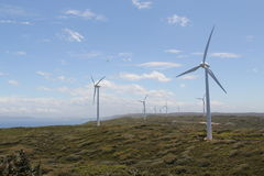 Albany Wind Farm. Is a wind power station near Albany, Western Australia Royalty Free Stock Photo