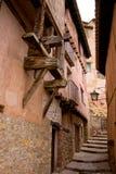 Albaraccin, Aragón, España fotos de archivo