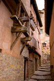 Albaraccin, Aragon, Espanha fotos de stock