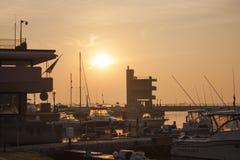 Albarella` s haven Royalty-vrije Stock Afbeelding