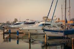 Albarella`s port Royalty Free Stock Photography