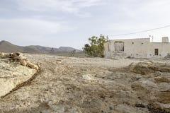 Albaricoques Лос, Андалусия, Испания, Европа, фильмы итальянки westerns ` s страны Стоковое Фото