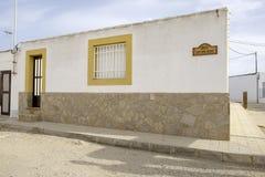 Albaricoques del Los, Andalucía, España, Europa, las películas del italiano de los westerns del ` s del país Foto de archivo libre de regalías