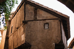 Albarracin在特鲁埃尔省,西班牙 库存图片