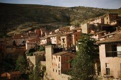 Albarracin в Теруэль, Испании стоковое изображение rf
