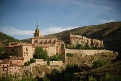 Albarracin в Теруэль, Испании Стоковые Изображения RF