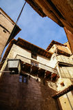 Albarracin, Теруэль, Арагон, Испания Стоковые Фото