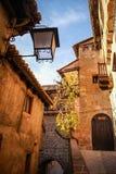 Albarracin, Теруэль, Арагон, Испания Стоковые Фотографии RF