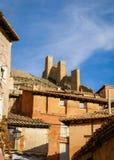 Albarracin, Теруэль, Арагон, Испания Стоковые Изображения