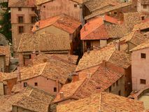 albarracin royaltyfria bilder
