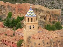albarracin royaltyfri fotografi