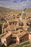Albarracin. View of Albarracin, Teruel, Spain Royalty Free Stock Photography