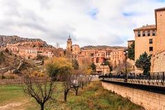 Albarracin, Aragon, Spain. Albarracín is a municipality in the province of Teruel in the Aragon region Royalty Free Stock Photo