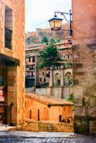 Albarracin, Aragon, Spain. Albarracín is a municipality in the province of Teruel in the Aragon region Stock Photo