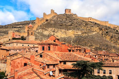 Albarracin, Aragon, Spain. Albarracín is a municipality in the province of Teruel in the Aragon region Stock Images