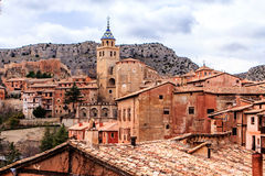 Albarracin, Aragon, Spain. Albarracín is a municipality in the province of Teruel in the Aragon region Royalty Free Stock Photography