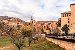 Albarracin, Aragon, Spain. Royalty Free Stock Photo