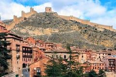 Albarracin, Aragon, Spanje Royalty-vrije Stock Foto