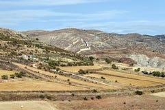 Albarracin felds Royalty Free Stock Photography