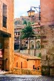 Albarracin, l'Aragona, Spagna Fotografia Stock