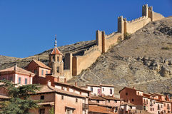 Albarracin, medieval town of Teruel, Spain Stock Photos