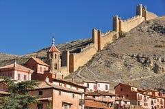 Albarracin, medieval town of Teruel, Spain. Albarracin, medieval town of Teruel (Spain Stock Photos