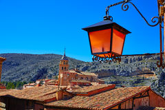 Albarracin medieval town at Teruel Spain Stock Photography