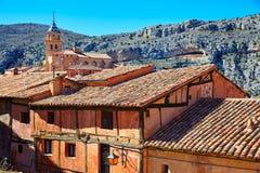 Albarracin medieval town at Teruel Spain Stock Image