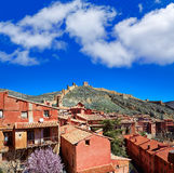 Albarracin medieval town at Teruel Spain Royalty Free Stock Image