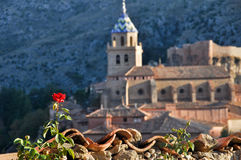Albarracin, middeleeuwse stad van Spanje Royalty-vrije Stock Fotografie