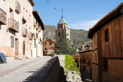 Albarracin - Spain Stock Image