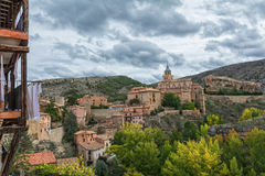 Albarracin, spain Royalty Free Stock Photos