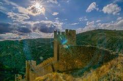 Albarracin Teruel Royalty Free Stock Photos