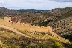 Albarracin Teruel Stock Image