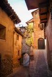Albarracin, Teruel, Aragon, Espanha Foto de Stock