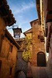 Albarracin, Teruel, Aragon, Espanha Imagem de Stock