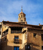Albarracin, Teruel, Aragon, Espanha Fotos de Stock Royalty Free