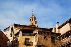 Albarracin Teruel, Aragon, Spanien Arkivbilder
