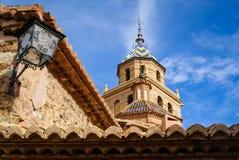 Albarracin Teruel, Aragon, Spanien Royaltyfria Foton